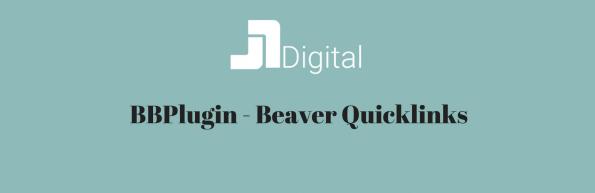 BBPlugin - Beaver Quicklinks