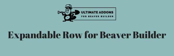 Expandable Row for Beaver Builder