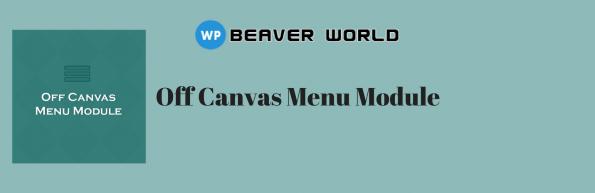Beaverworld Off canvas menu