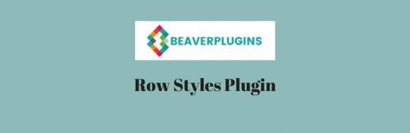 Row Styles