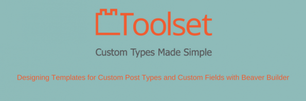 Toolset post types