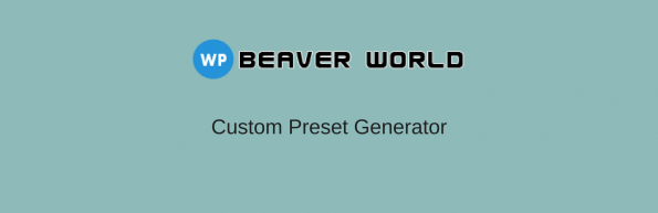 WPBW custom preset