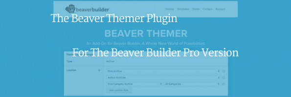 The Beaver Themer Plugin For Beaver Builder Pro